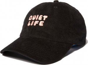 The Quiet Life Kenny Cord Dad Hat -ブラック