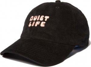 The Quiet Life Kenny Cord Dad Hat -ブラック