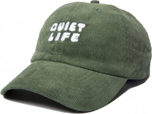 The Quiet Life Kenny Cord Dad Hat -オリーブ