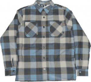VANS Check Shirt Jacket -ライトブルー