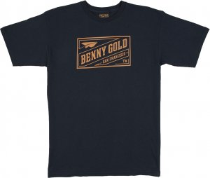 Benny Gold Stamp Tee -ネイビー