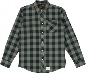 <img class='new_mark_img1' src='//img.shop-pro.jp/img/new/icons20.gif' style='border:none;display:inline;margin:0px;padding:0px;width:auto;' />Benny Gold Squaw Plaid Flannel Shirt -グリーン