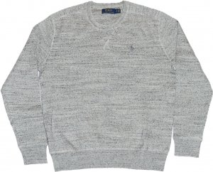 <img class='new_mark_img1' src='https://img.shop-pro.jp/img/new/icons20.gif' style='border:none;display:inline;margin:0px;padding:0px;width:auto;' />Polo Ralph Lauren Cotton Knit -グレー