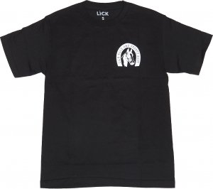 LICK NYC NY Sports Book Tee -ブラック