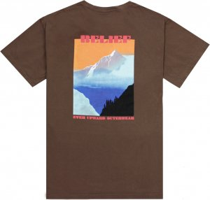 Belief NYC Highlands Tee -ブラウン