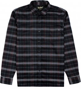 Belief NYC Camper Flannel -ブラック