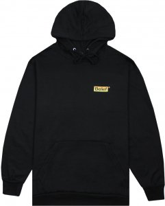 Belief NYC Box Logo Hoody -ブラック