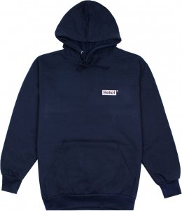 Belief NYC Box Logo Hoody -ネイビー