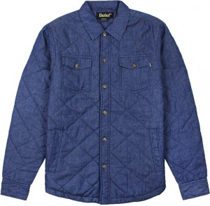 Belief NYC Broadway Quilted Jacket -インディゴ
