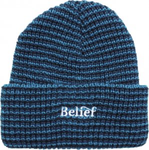 <img class='new_mark_img1' src='//img.shop-pro.jp/img/new/icons5.gif' style='border:none;display:inline;margin:0px;padding:0px;width:auto;' />Belief NYC Wave Beanie -ネイビー