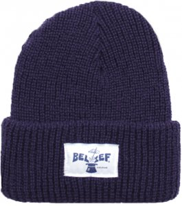Belief NYC Magician Beanie -ディープパープル