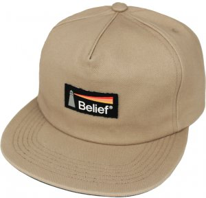Belief NYC Lighthouse Snapback -サンド