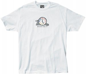 The Quiet Life Tick Tock Tee -ホワイト