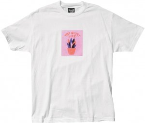 The Quiet Life Yawn Plant Tee -ホワイト