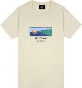 Belief NYC Horizon Tee -ナチュラル