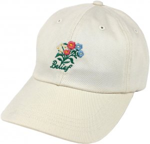 Belief NYC Bouquet Cap -エッグシェル