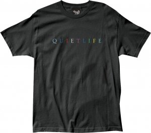 The Quiet Life Rainbow Tee -ブラック