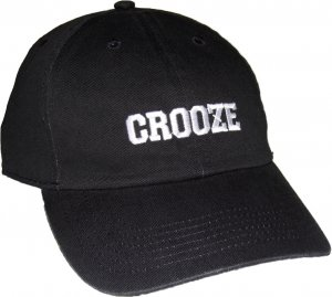 CROOZE Classic Dad Hat -ブラック