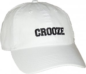 CROOZE Classic Dad Hat -ホワイト