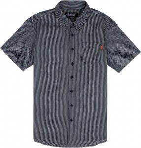 Belief NYC Union S/S Button Up -レールロードデニム