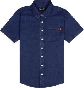 Belief NYC Union S/S Button Up -デニム