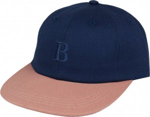 Belief NYC Borough 6 Panel Cap -スモークブルー