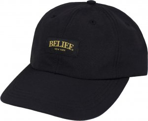 Belief NYC Union 6 Panel Cap -ブラック
