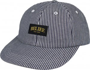 Belief NYC Union 6 Panel Cap -レールロードデニム