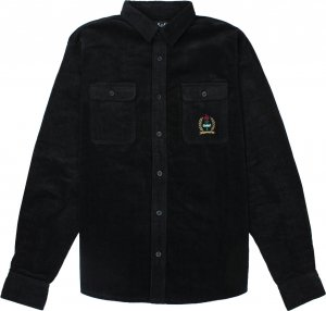 <img class='new_mark_img1' src='https://img.shop-pro.jp/img/new/icons1.gif' style='border:none;display:inline;margin:0px;padding:0px;width:auto;' />Belief NYC Woodside Corduroy Overshirt -ブラック