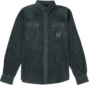 <img class='new_mark_img1' src='https://img.shop-pro.jp/img/new/icons1.gif' style='border:none;display:inline;margin:0px;padding:0px;width:auto;' />Belief NYC Woodside Corduroy Overshirt -モス