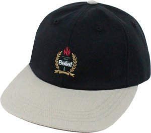 Belief NYC Liberty 6-Panel Cap -ブラック