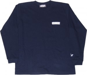 CROOZE Classic Long Sleeve Tee -ネイビー