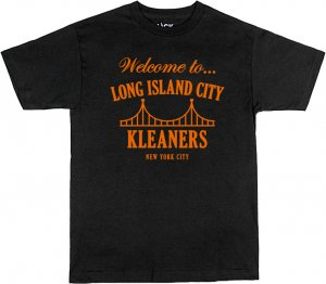 LICK NYC Welcome To Tee -ブラック