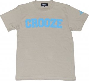 CROOZE Kid's Classic Logo Tee  -シルバーグレー