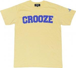 CROOZE Kid's Classic Logo Tee  -ライトイエロー