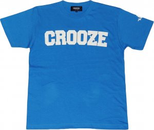 <img class='new_mark_img1' src='https://img.shop-pro.jp/img/new/icons1.gif' style='border:none;display:inline;margin:0px;padding:0px;width:auto;' />CROOZE Classic Logo Tee  -ミディアムブルー