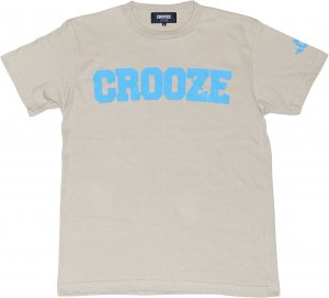 <img class='new_mark_img1' src='https://img.shop-pro.jp/img/new/icons1.gif' style='border:none;display:inline;margin:0px;padding:0px;width:auto;' />CROOZE Classic Logo Tee  -シルバーグレー