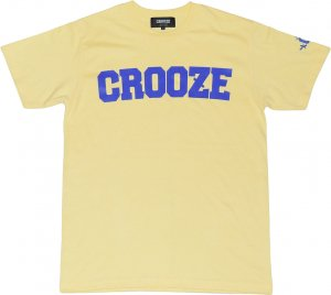 <img class='new_mark_img1' src='https://img.shop-pro.jp/img/new/icons1.gif' style='border:none;display:inline;margin:0px;padding:0px;width:auto;' />CROOZE Classic Logo Tee  -ライトイエロー