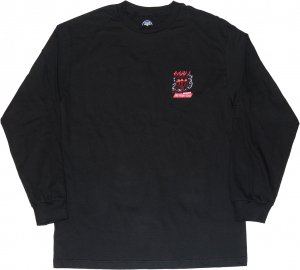 Good Worth & Co All Night Long Long Sleeve Tee -ブラック