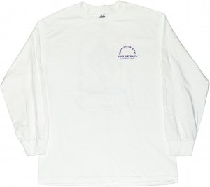 Good Worth & Co Trouble Long Sleeve Tee -ホワイト