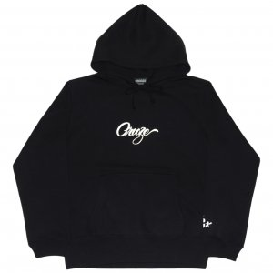 <img class='new_mark_img1' src='https://img.shop-pro.jp/img/new/icons1.gif' style='border:none;display:inline;margin:0px;padding:0px;width:auto;' />CROOZE Script Logo Hoodie -ブラック