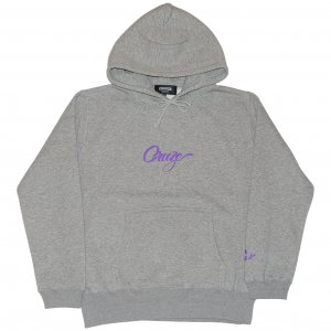 <img class='new_mark_img1' src='https://img.shop-pro.jp/img/new/icons1.gif' style='border:none;display:inline;margin:0px;padding:0px;width:auto;' />CROOZE Script Logo Hoodie -ヘザーグレー