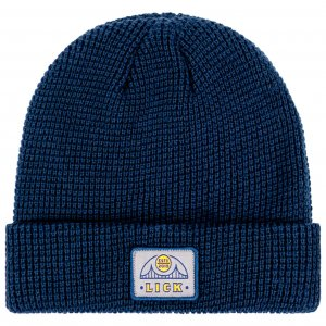 <img class='new_mark_img1' src='https://img.shop-pro.jp/img/new/icons20.gif' style='border:none;display:inline;margin:0px;padding:0px;width:auto;' />LICK NYC HEMI BRIDGE Beanie -ネイビー