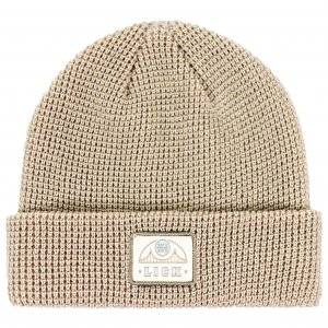 <img class='new_mark_img1' src='https://img.shop-pro.jp/img/new/icons1.gif' style='border:none;display:inline;margin:0px;padding:0px;width:auto;' />LICK NYC HEMI BRIDGE Beanie -ストーン