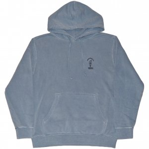 <img class='new_mark_img1' src='https://img.shop-pro.jp/img/new/icons1.gif' style='border:none;display:inline;margin:0px;padding:0px;width:auto;' />Good Worth & Co Smoking Parrot Pigment Dyed Pullover -ブルー