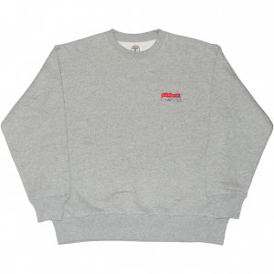<img class='new_mark_img1' src='https://img.shop-pro.jp/img/new/icons1.gif' style='border:none;display:inline;margin:0px;padding:0px;width:auto;' />Good Worth & Co Logo Crewneck Sweat Shirt -グレー