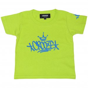 <img class='new_mark_img1' src='https://img.shop-pro.jp/img/new/icons1.gif' style='border:none;display:inline;margin:0px;padding:0px;width:auto;' />CROOZE Kid's Tag Tee  -ライトグリーン