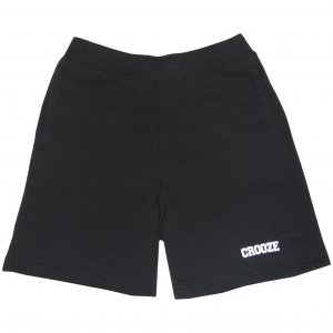 <img class='new_mark_img1' src='https://img.shop-pro.jp/img/new/icons1.gif' style='border:none;display:inline;margin:0px;padding:0px;width:auto;' />CROOZE Classic Logo Sweat Shorts -ブラック