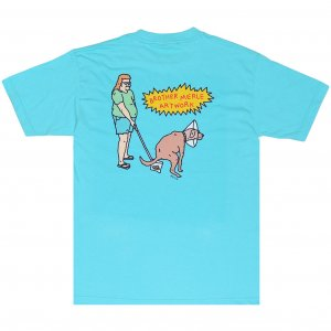 <img class='new_mark_img1' src='https://img.shop-pro.jp/img/new/icons1.gif' style='border:none;display:inline;margin:0px;padding:0px;width:auto;' />Brother Merle Good Dog Tee -パシフィック ブルー