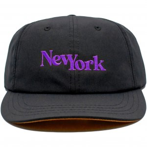 LICK NYC New York SSC Cap -ブラック・パープル